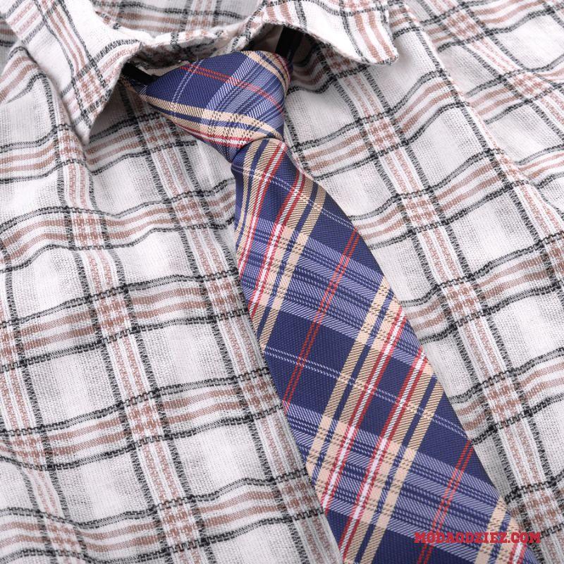 ca1d7dc5b4f254 ... Damska Krawat Mundury Casual Krata Moda Koszula Mały Męskie Czerwony ...