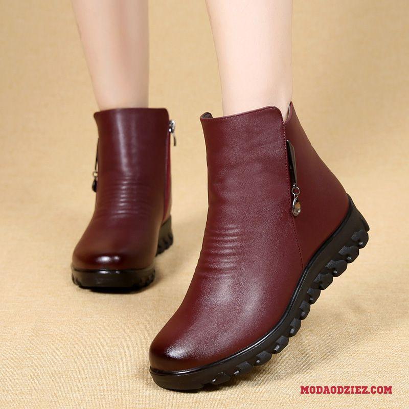 buty zimowe damskie krótkie i dłgie skorzane
