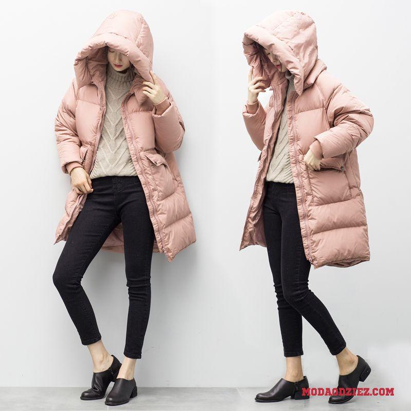 Zimowe kurtki puchowe damskie Kurtki damskie puchowe