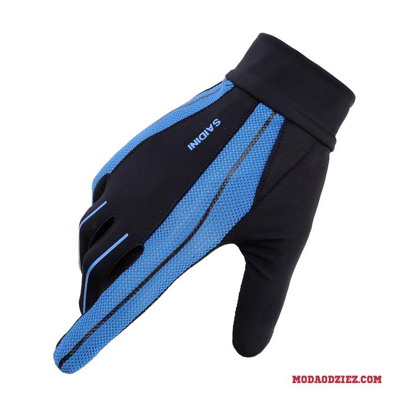 6cd858c9a7f223 Rękawiczki Trekkingowa Ochrona Przed Słońcem Oddychające Męskie Sportowe  Jazdy Outdoor Lato Niebieski ...
