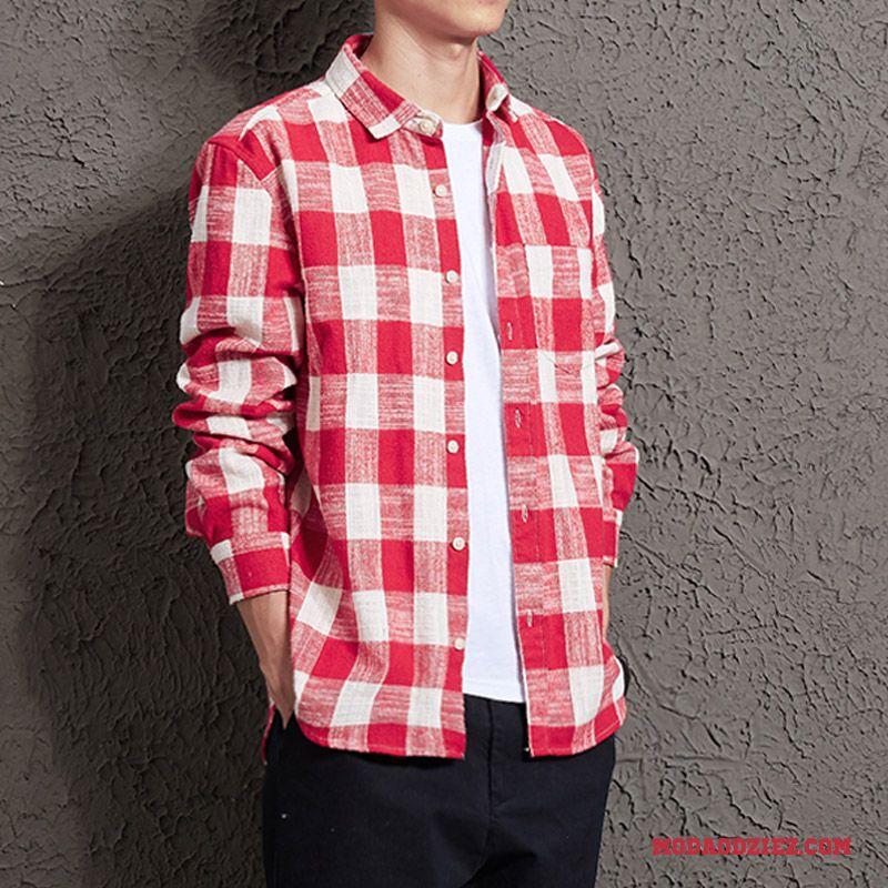 3cb9e231e4c3c Slim Fit Młodzież Męskie Koszula Piękny Długi Rękaw Wygodne Tendencja  Sprzedam